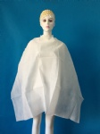 Non woven hair cutting cape